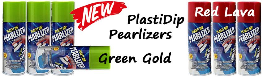 Neue PlastiDip Pearlizer Farben