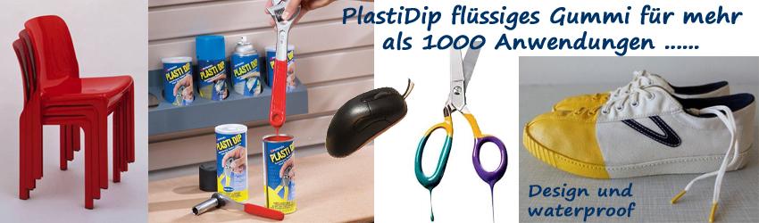 PlastiDip flüssiges Gummi für mehr als 1000 Anwendungen