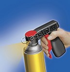 Spray-Dosen Handgriff